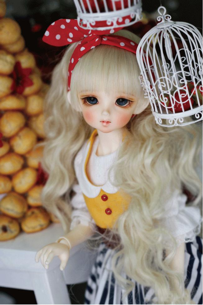 ドール本体 CRBOI Heidi 疑問符 ドールボディー  BJD人形 SD人形 1/4製品図4