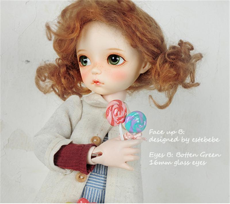 ドール本体 soom imda3.0 Mabelleドールボディー BJD人形 SD人形 1/6製品図2