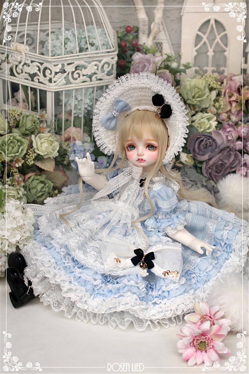 ドール本体 RL Mignon 巨児ドールボディー BJD人形 SD人形 1/4製品図5