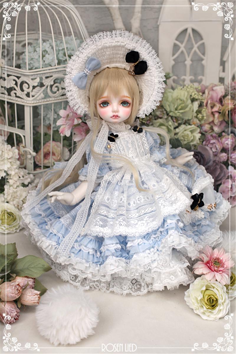 ドール本体 RL Mignon 巨児ドールボディー BJD人形 SD人形 1/4製品図6