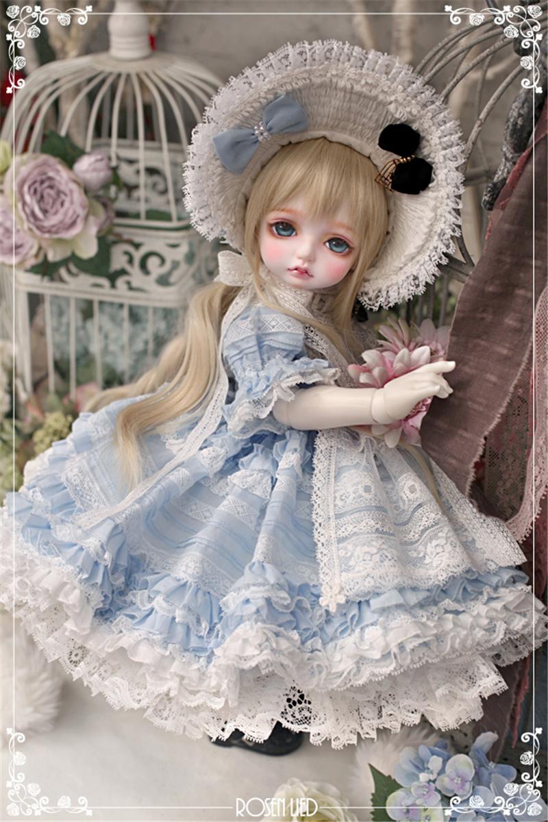ドール本体 RL Mignon 巨児ドールボディー BJD人形 SD人形 1/4製品図1