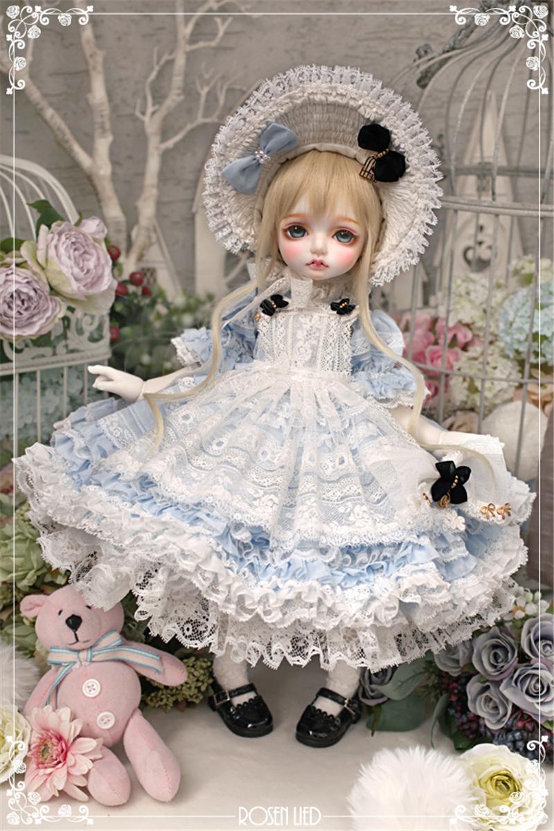 ドール本体 RL Mignon 巨児ドールボディー BJD人形 SD人形 1/4製品図2