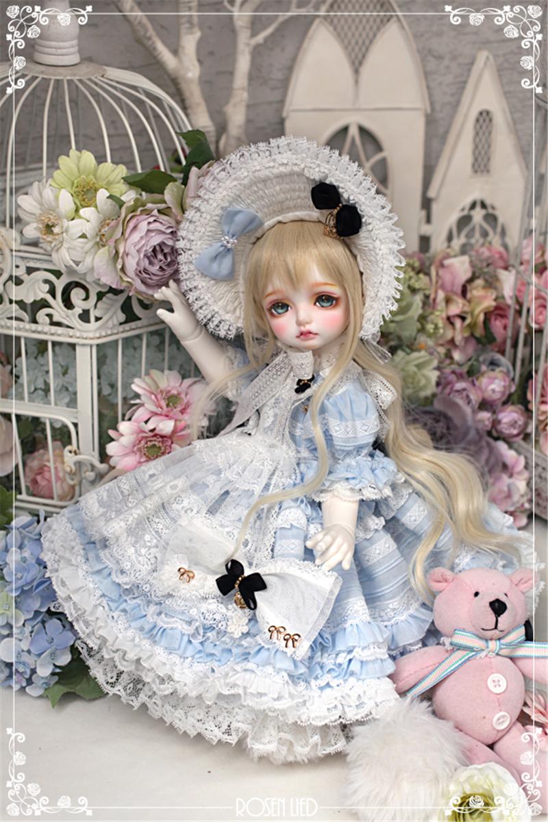 ドール本体 RL Mignon 巨児ドールボディー BJD人形 SD人形 1/4製品図3