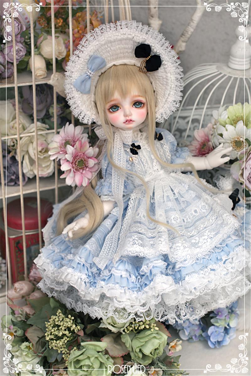 ドール本体 RL Mignon 巨児ドールボディー BJD人形 SD人形 1/4製品図4