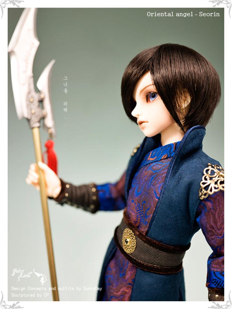 ドール本体 Seorin MiniFeeドールボディー アイを贈る BJD人形 SD人形 1/4製品図6