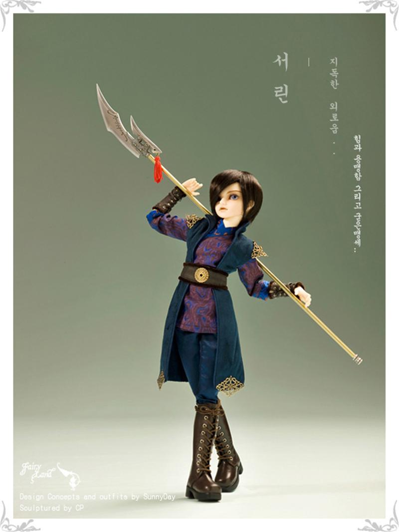 ドール本体 Seorin MiniFeeドールボディー アイを贈る BJD人形 SD人形 1/4製品図7