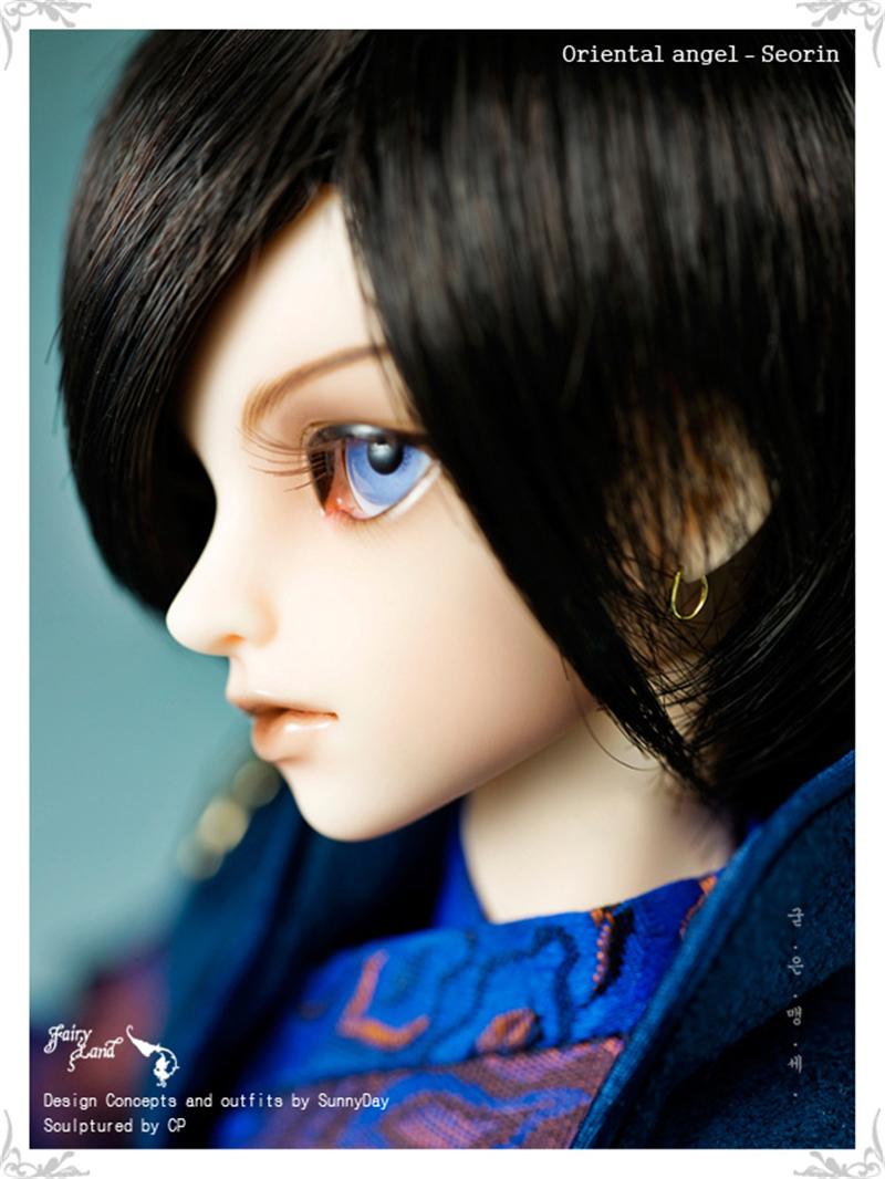 ドール本体 Seorin MiniFeeドールボディー アイを贈る BJD人形 SD人形 1/4製品図3