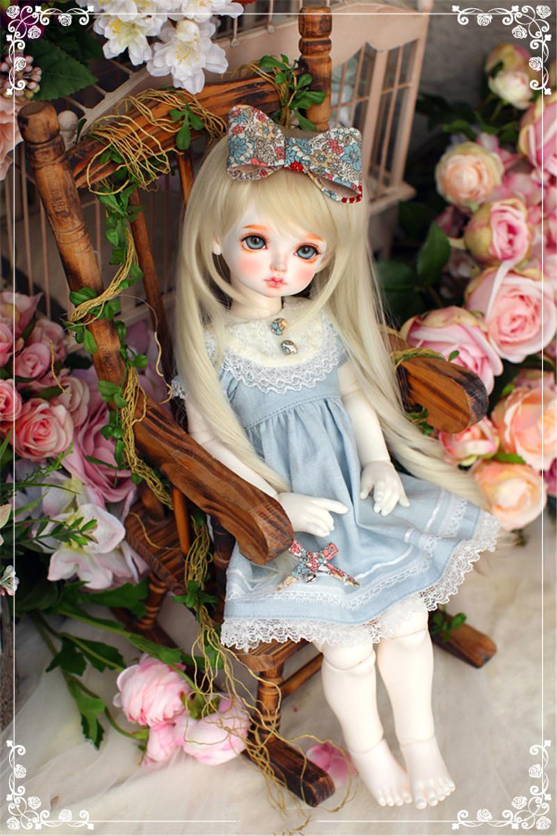 ドール本体 RL child Ribbon 巨児 ドールボディー BJD人形 SD人形 1/4製品図6
