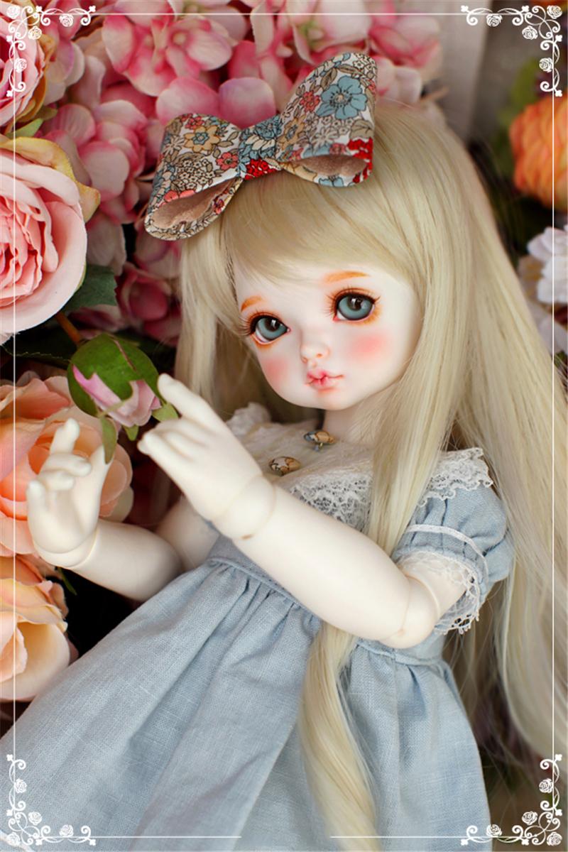ドール本体 RL child Ribbon 巨児 ドールボディー BJD人形 SD人形 1/4製品図1