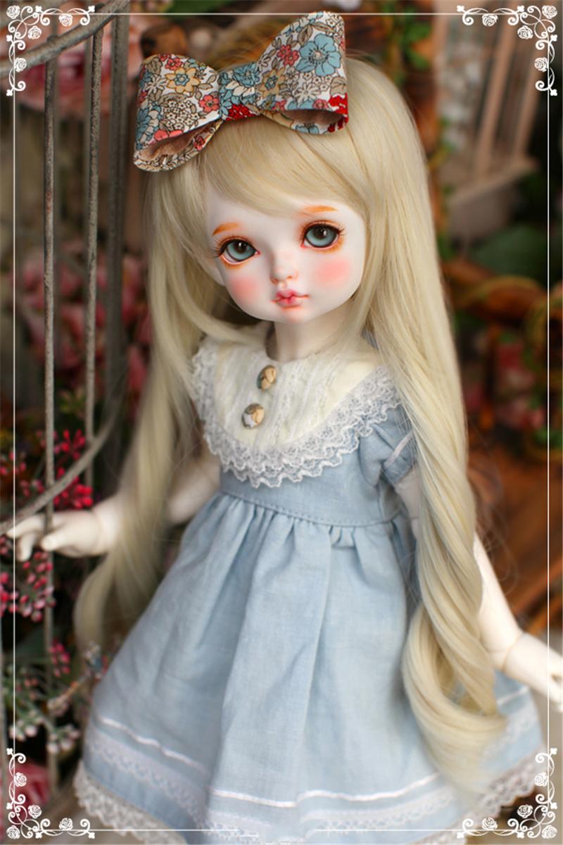 ドール本体 RL child Ribbon 巨児 ドールボディー BJD人形 SD人形 1/4製品図3