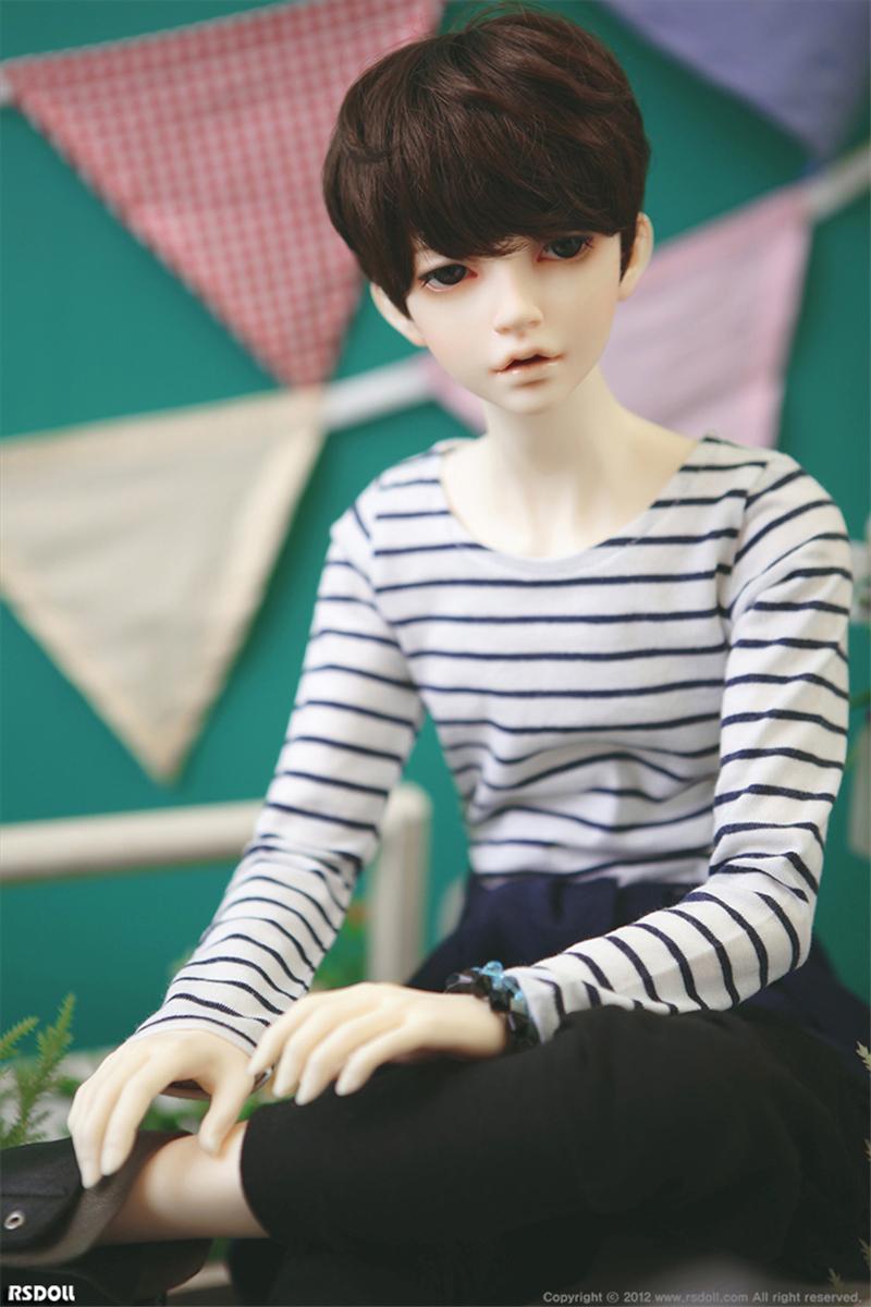 ドール本体 RS RUTY 男 ドールボディー BJD人形 SD人形 1/3製品図5