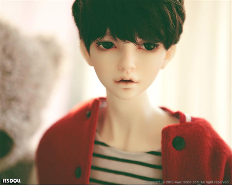 ドール本体 RS RUTY 男 ドールボディー BJD人形 SD人形 1/3製品図2