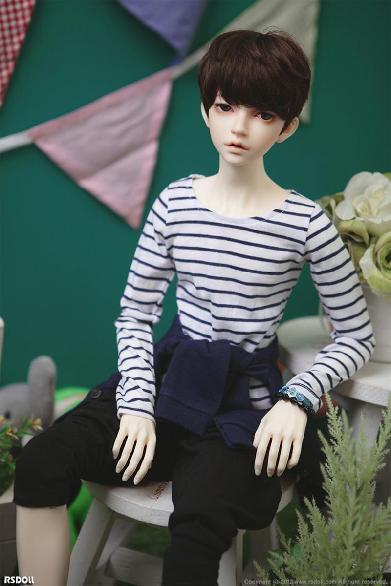ドール本体 RS RUTY 男 ドールボディー BJD人形 SD人形 1/3製品図4