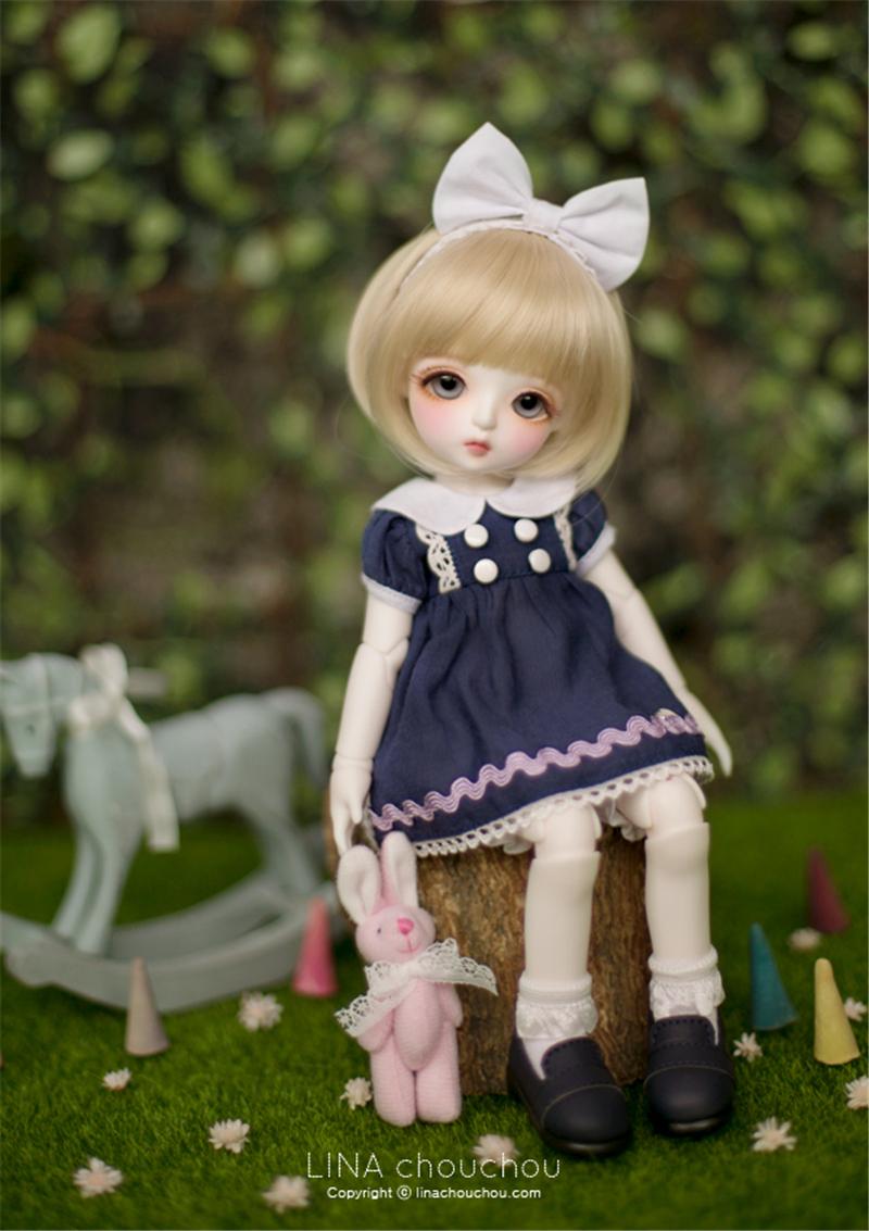 ドール本体 lina Openmouth Miu ドールボディー BJD人形 SD人形 1/6製品図3