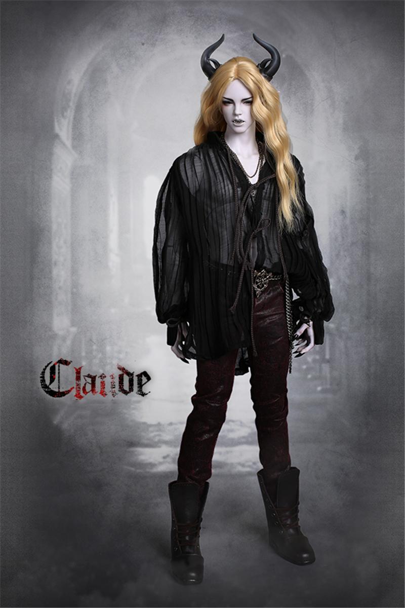 ドール本体 IPHOUSE Fid Vampire Claude 吸血鬼 ドールボディー BJD人形 SD人形 1/3製品図6