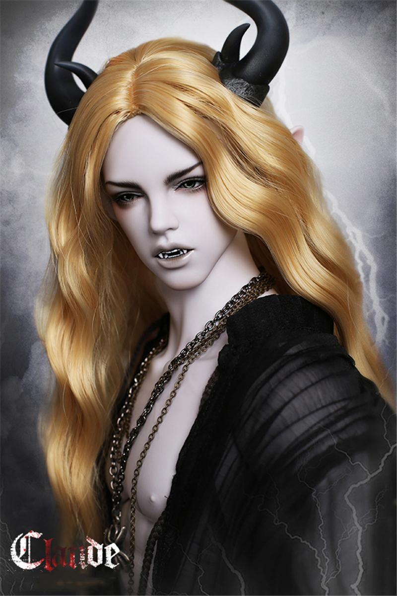 ドール本体 IPHOUSE Fid Vampire Claude 吸血鬼 ドールボディー BJD人形 SD人形 1/3製品図3