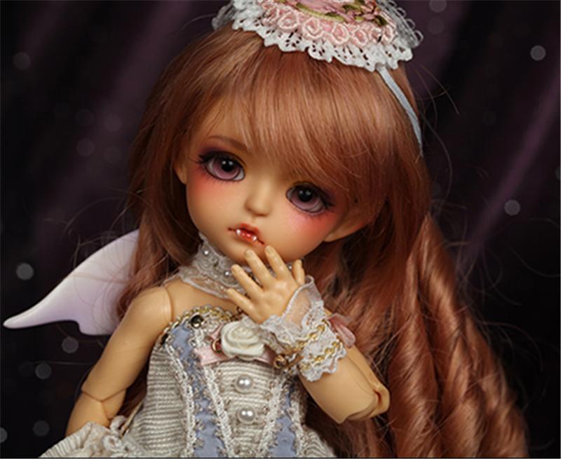 ドール本体 Bat Children ver. Sp.Lea BJD人形 SD人形 1/8製品図1