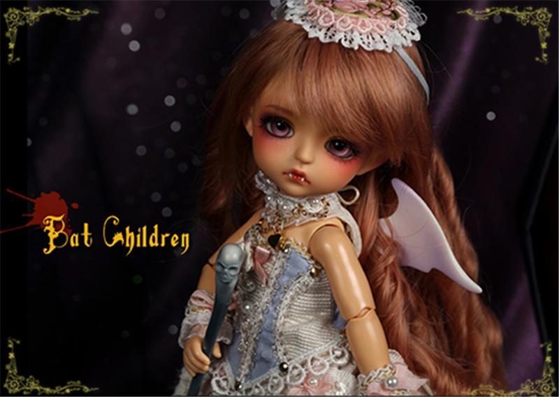 ドール本体 Bat Children ver. Sp.Lea BJD人形 SD人形 1/8製品図2
