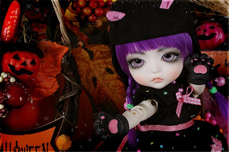 ドール本体 Halloween Ver. Cat Lea BJD人形 SD人形 1/8製品図1