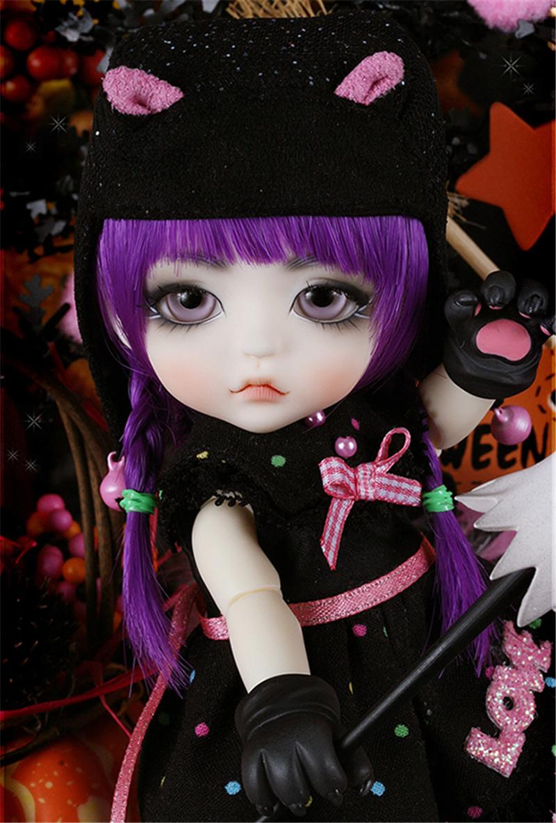 ドール本体 Halloween Ver. Cat Lea BJD人形 SD人形 1/8製品図2
