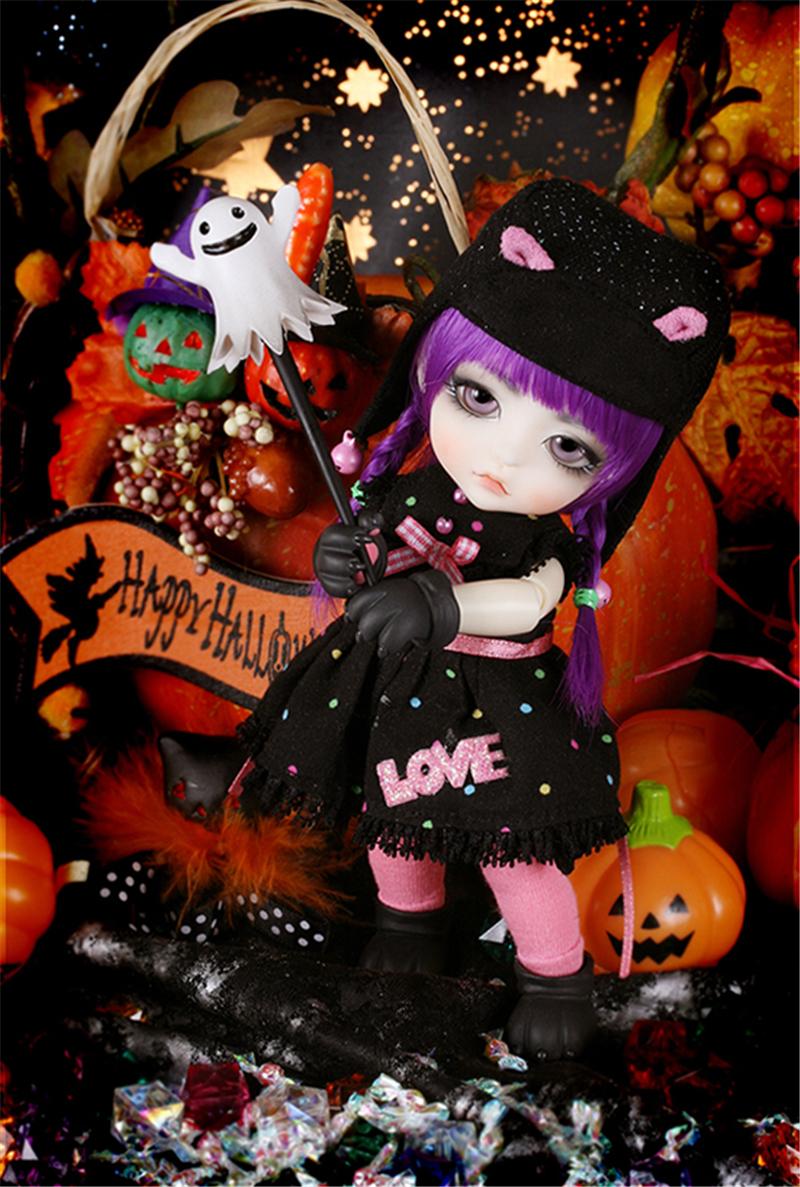 ドール本体 Halloween Ver. Cat Lea BJD人形 SD人形 1/8製品図3