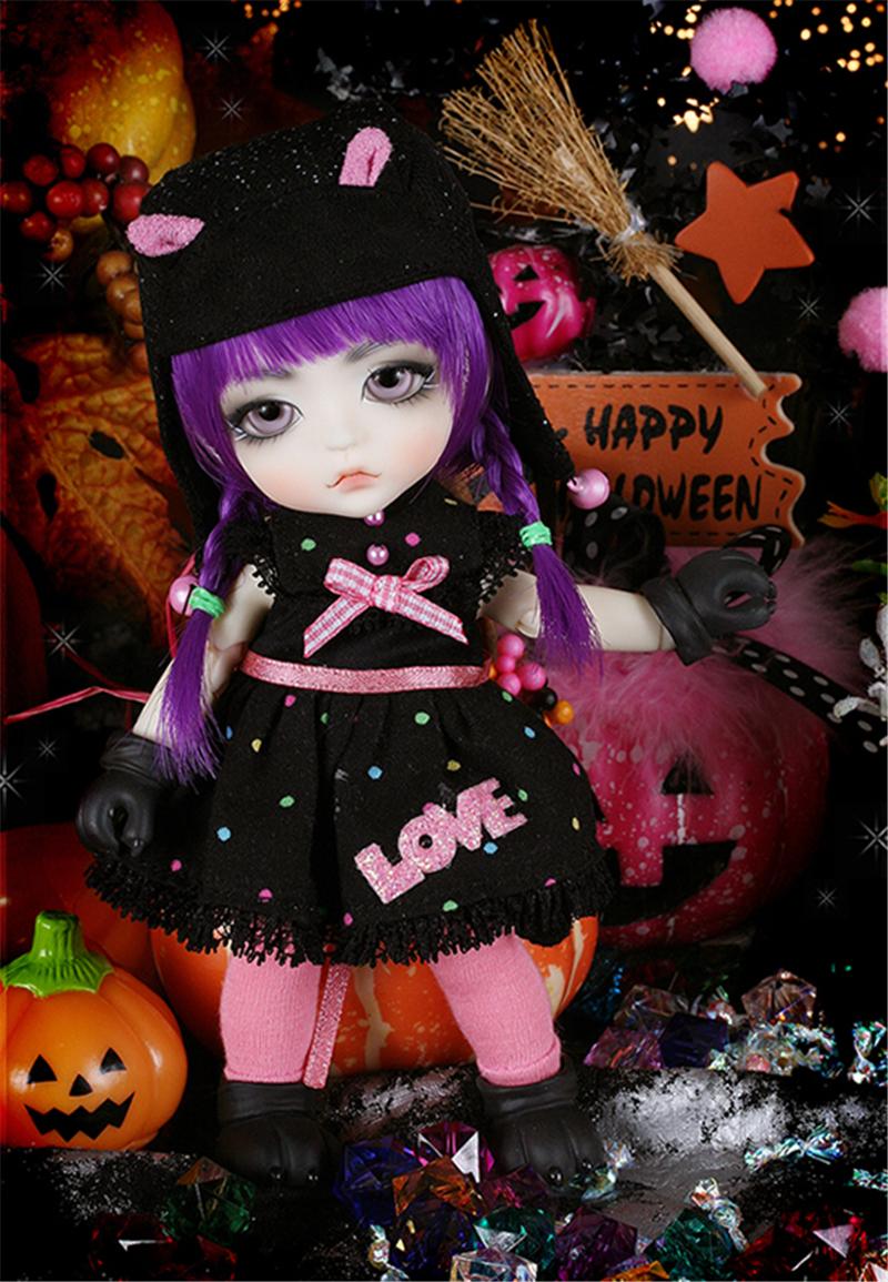 ドール本体 Halloween Ver. Cat Lea BJD人形 SD人形 1/8製品図4