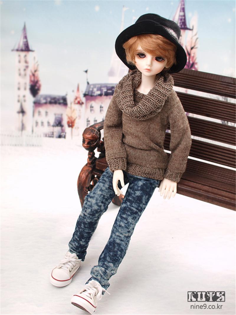 ドール本体 LUTS kid Delf BORY BJD人形 SD人形 1/4製品図5