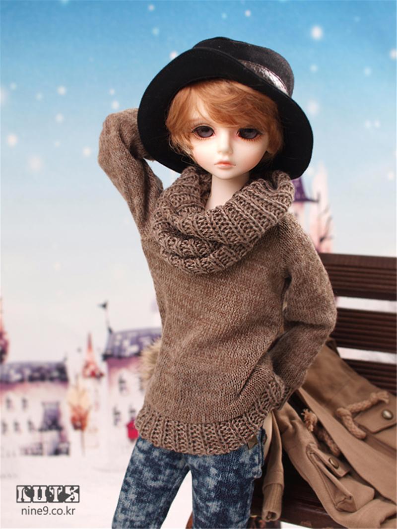 ドール本体 LUTS kid Delf BORY BJD人形 SD人形 1/4製品図4