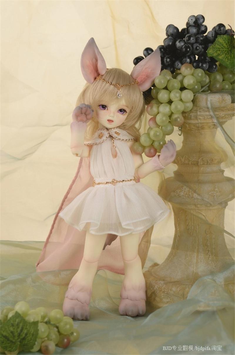 ドール本体 SOOM Feny&Necy キツネ狐 BJD人形 SD人形 1/6製品図3