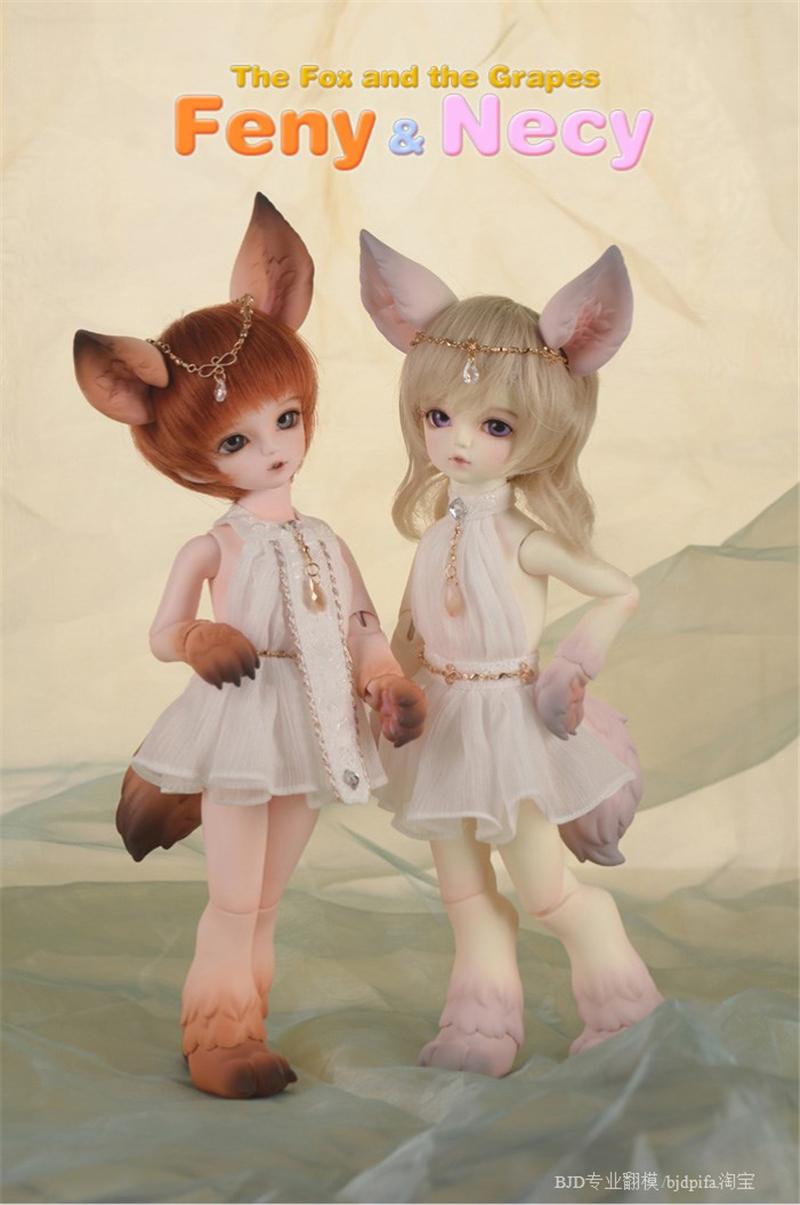 ドール本体 SOOM Feny&Necy キツネ狐 BJD人形 SD人形 1/6製品図4