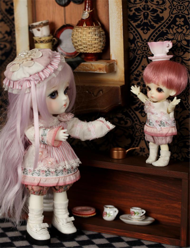 ドール本体 lati Belle BJD人形 SD人形 1/12製品図4