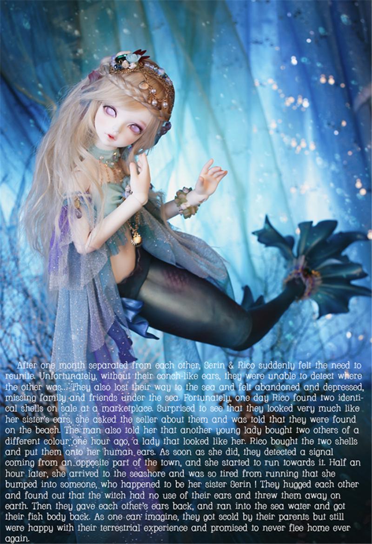 ドール本体 Soom Serin & Rico BJD人形 SD人形 1/4製品図1