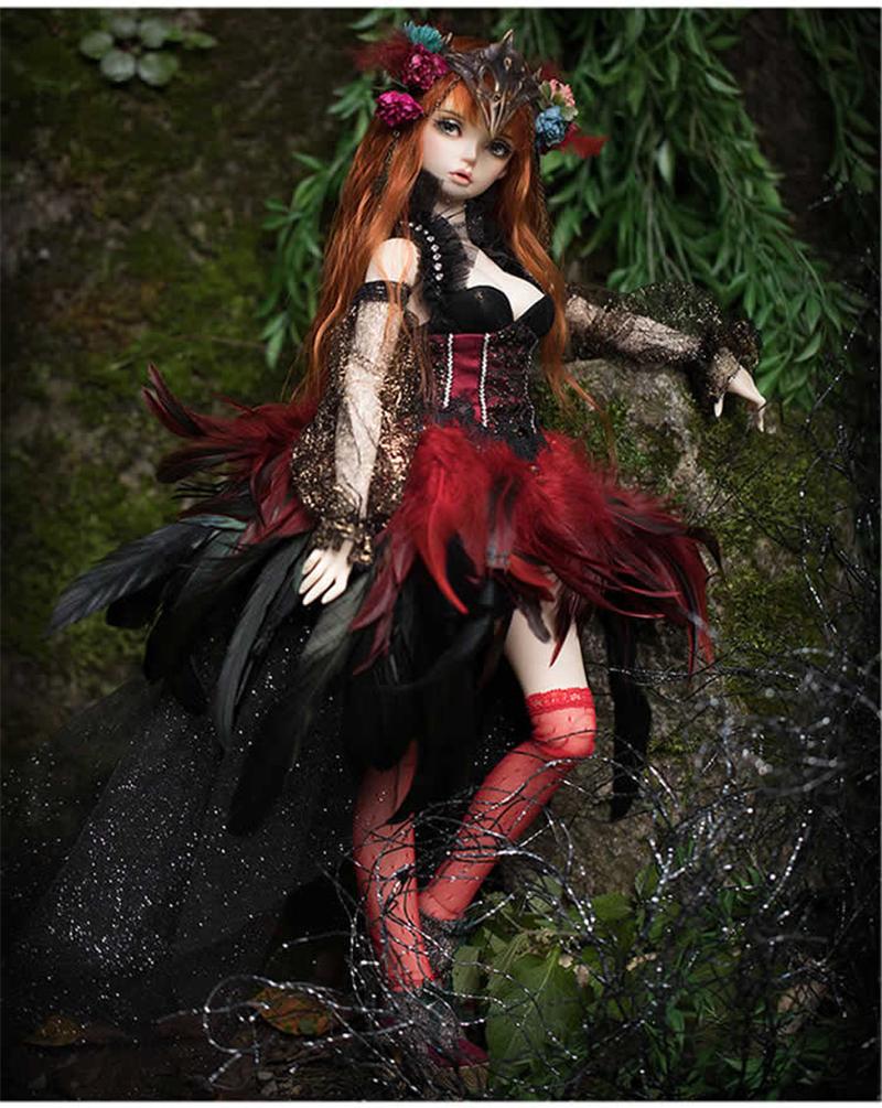 ドール本体 Ria FairyLine BJD人形 SD人形 1/3製品図5