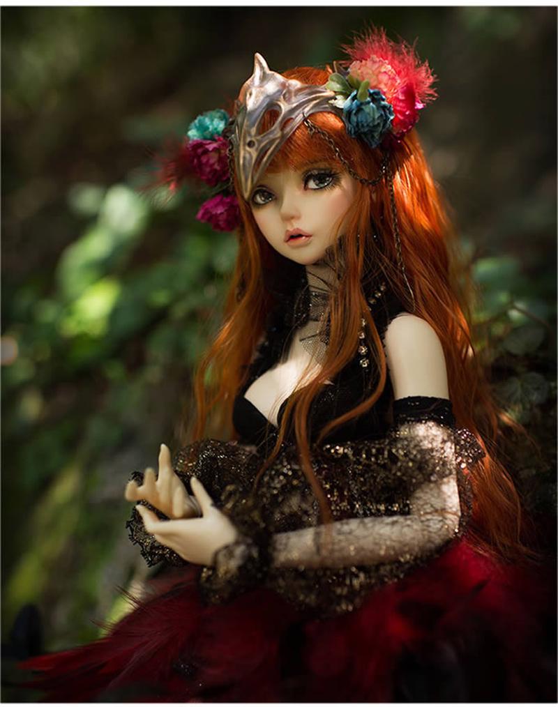 ドール本体 Ria FairyLine BJD人形 SD人形 1/3製品図3