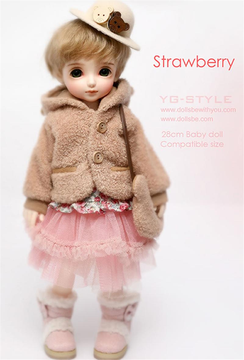 ドール本体 Be with you Strawberry BJD人形 SD人形 1/6製品図5