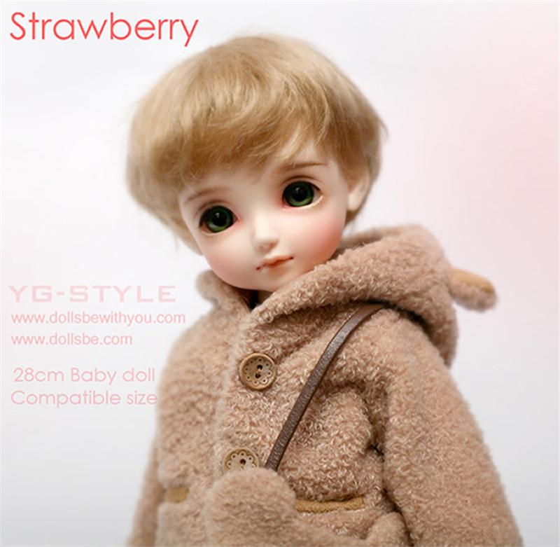 ドール本体 Be with you Strawberry BJD人形 SD人形 1/6製品図1