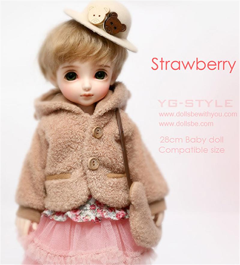 ドール本体 Be with you Strawberry BJD人形 SD人形 1/6製品図4