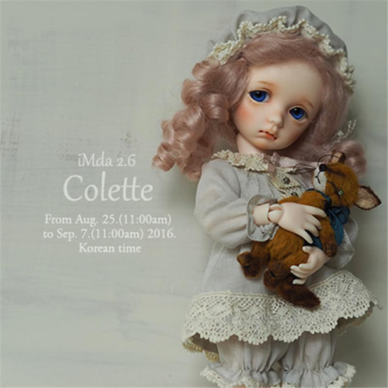 ドール本体 imda 2.6 Colette BJD人形 SD人形 1/6製品図1