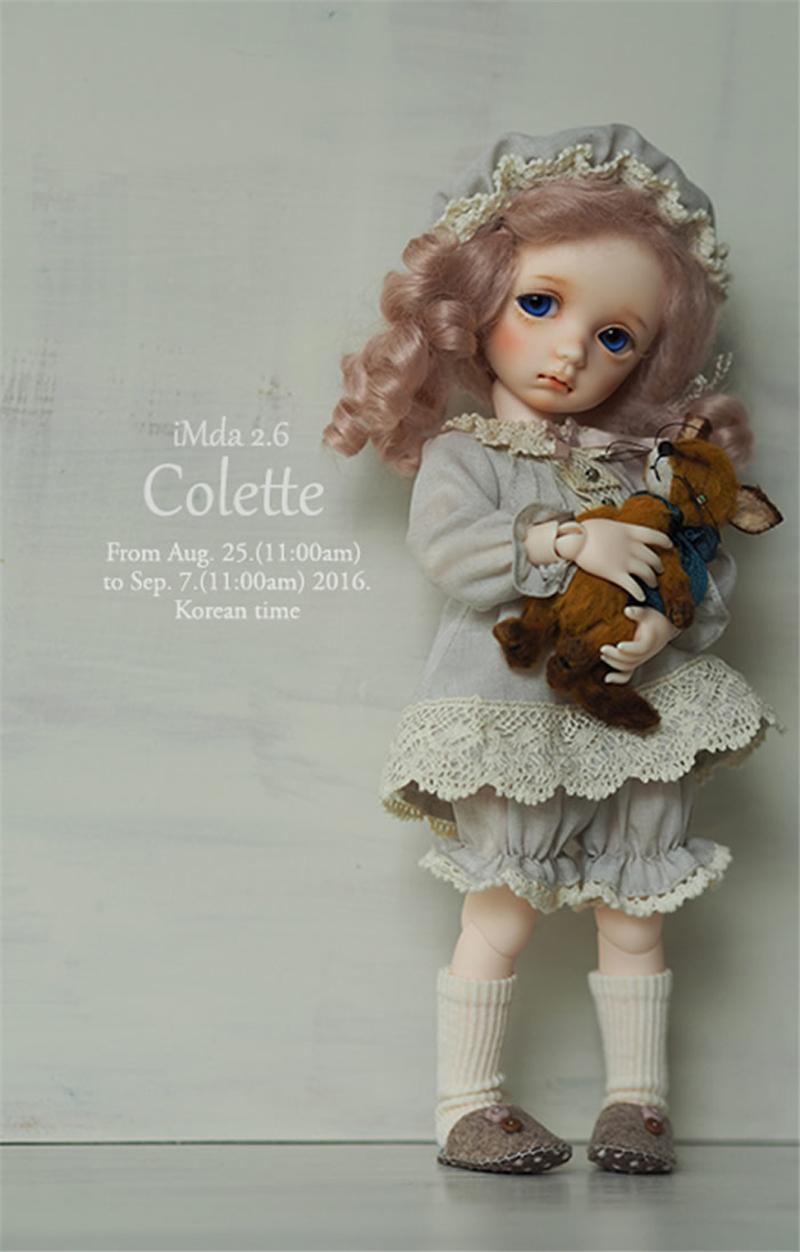 ドール本体 imda 2.6 Colette BJD人形 SD人形 1/6製品図3