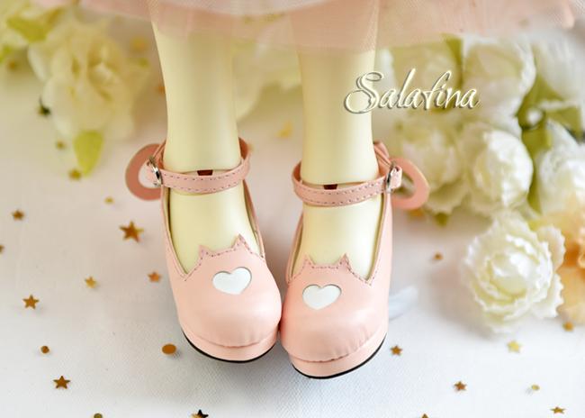 Bjd靴  ドール靴 萌えネコ尾 msd 可愛い靴 人形靴 1/4/1/6/1/8 製品図5