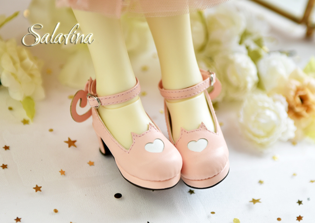 Bjd靴  ドール靴 萌えネコ尾 msd 可愛い靴 人形靴 1/4/1/6/1/8 製品図6
