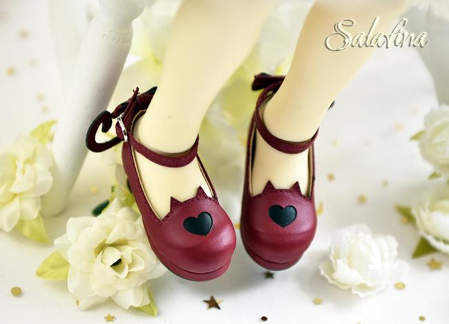 Bjd靴  ドール靴 萌えネコ尾 msd 可愛い靴 人形靴 1/4/1/6/1/8 製品図7
