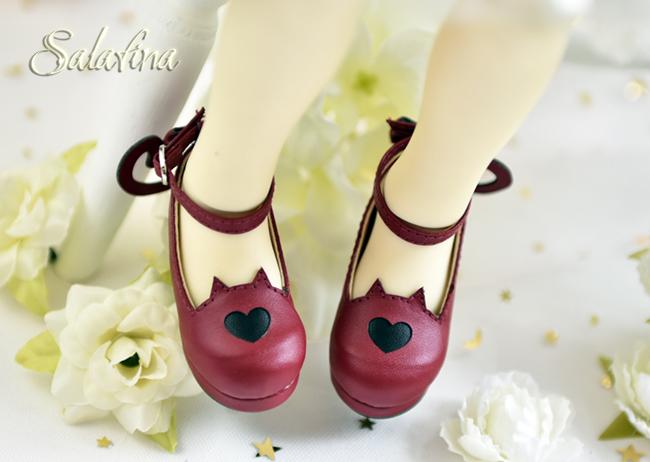 Bjd靴  ドール靴 萌えネコ尾 msd 可愛い靴 人形靴 1/4/1/6/1/8 製品図8