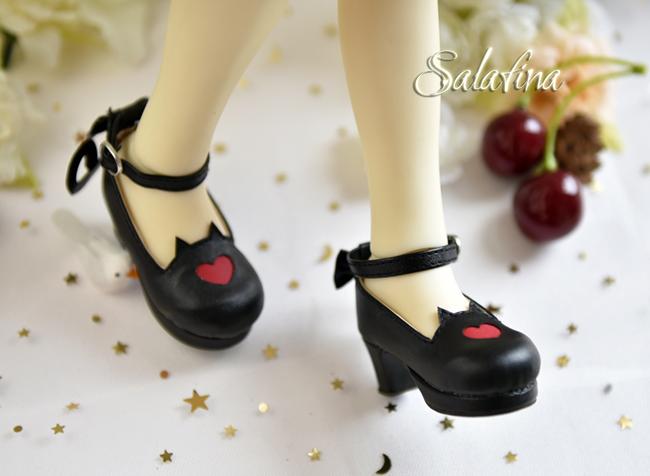 Bjd靴  ドール靴 萌えネコ尾 msd 可愛い靴 人形靴 1/4/1/6/1/8 製品図9