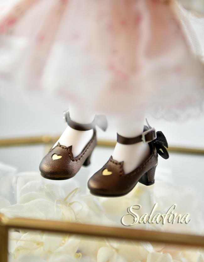 Bjd靴  ドール靴 萌えネコ尾 msd 可愛い靴 人形靴 1/4/1/6/1/8 製品図10