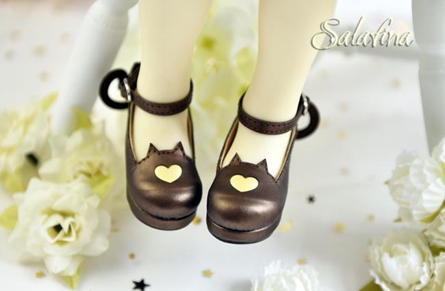 Bjd靴  ドール靴 萌えネコ尾 msd 可愛い靴 人形靴 1/4/1/6/1/8 製品図1