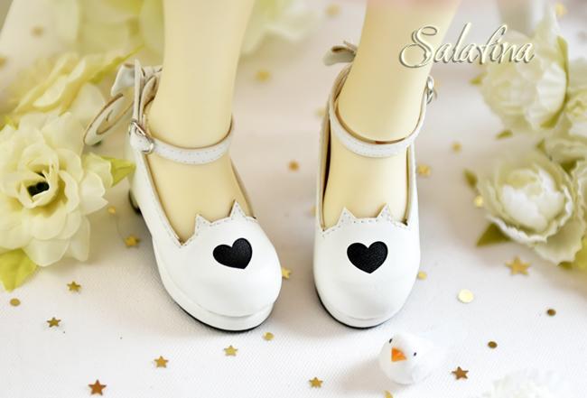 Bjd靴  ドール靴 萌えネコ尾 msd 可愛い靴 人形靴 1/4/1/6/1/8 製品図3