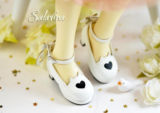 Bjd靴  ドール靴 萌えネコ尾 msd 可愛い靴 人形靴 1/4/1/6/1/8 製品図4