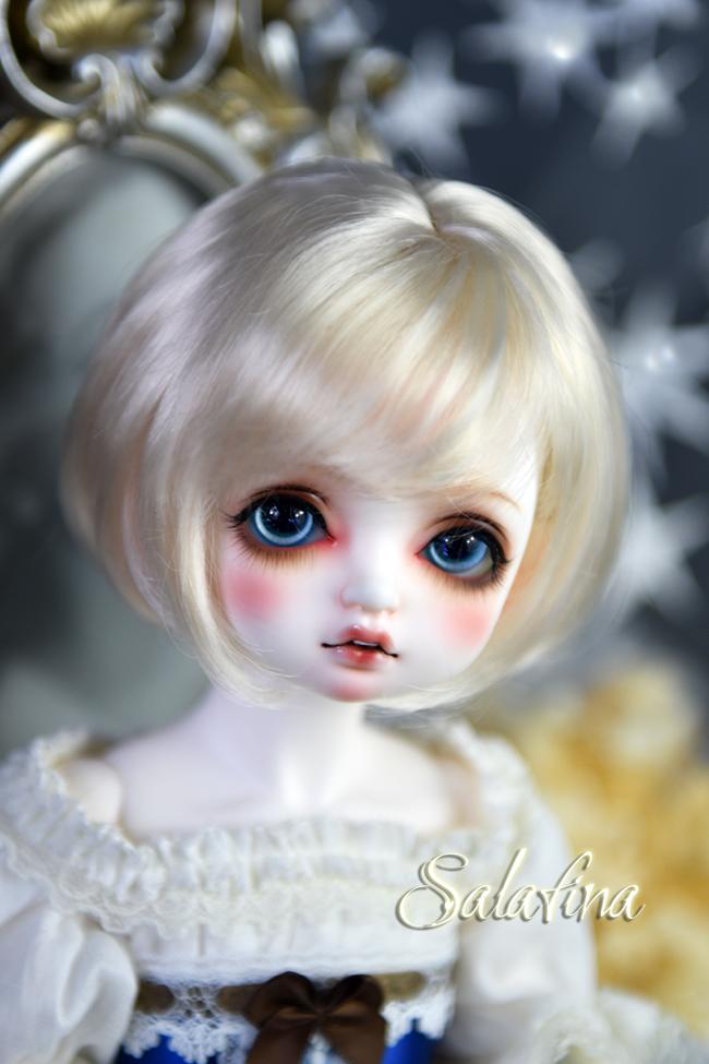 ドール用ウィッグ  人形ウィッグ  ショート髪 1/3/巨児サイズ 超柔らかい糸 BJD SD製品図7