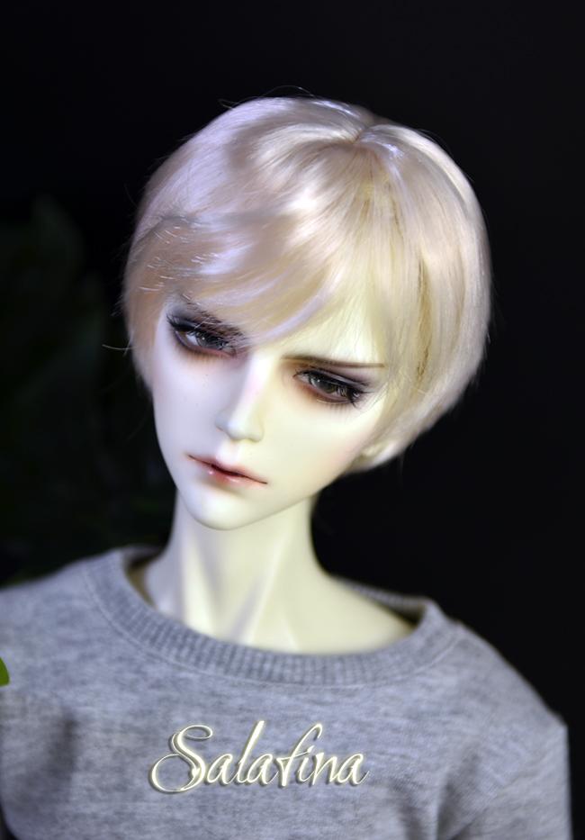 ドール用ウィッグ  人形ウィッグ イケメン 男用 1/3/1/4/1/6サイズ 超柔らかい糸 ショートヘア製品図5